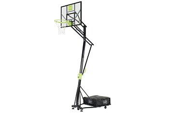 EXIT basketkorg Galaxy, portabel höjdjusterbar basketställning