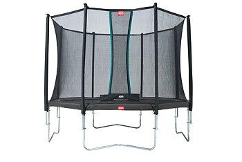 Studsmatta BERG Favorit Grey 380 + skyddsnät Comfort