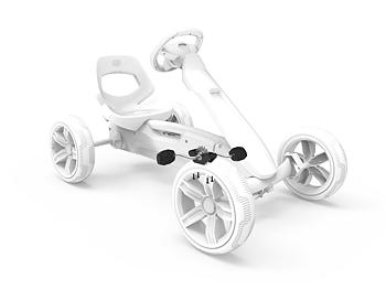 BERG Reppy - Crank shaft incl. pedals black