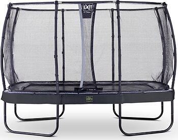 EXIT Studsmatta Elegant Premium Rektangulär 214x366 Svart +Safetynet Deluxe