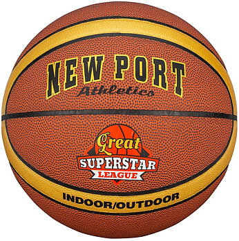NEW PORT BASKETBOLL LAMINERAD STL 7 - ATHLETIC