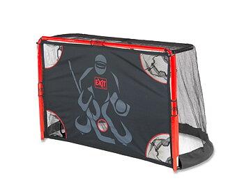 EXIT hockeymål, ishockeymål med målduk