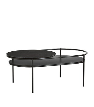 Verde Coffe table svart marmor Woud