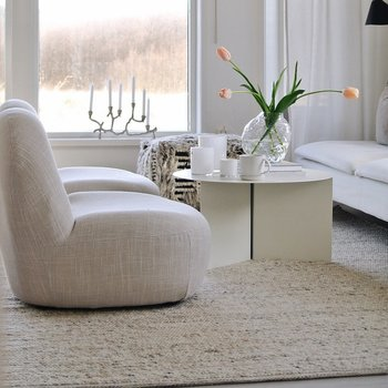 Ullmatta Merino beige 250 x 350 Classic Collection