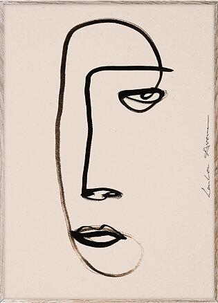 """Tavla """"Serious Dreamer"""""""