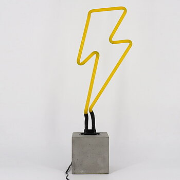"Neon light ""Lightning"""