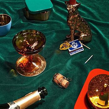 Champagneglas (Set om 2) Sköldpadda - &Klevering