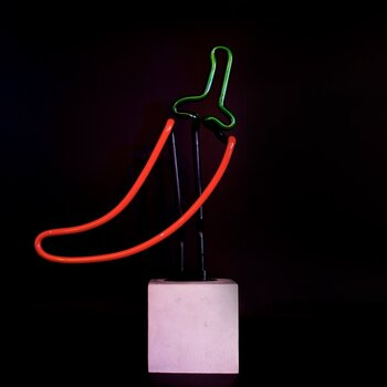 "Neon light ""Chili"""