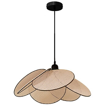 Petal lamp in rattan Small