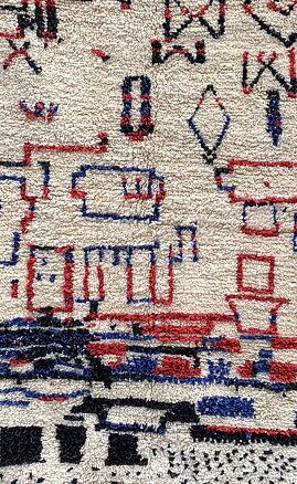 Vintage Azilal matta