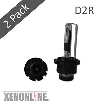 Xenonlampor D2R 6000K 2-pack