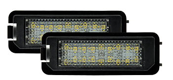 Skyltbelysning LED VW Golf 4, 5, 6, 7, Passat 3C mm