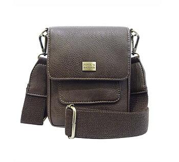 Saddle Cross Bag -  BROWN