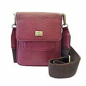Saddle Cross Bag -  WINE