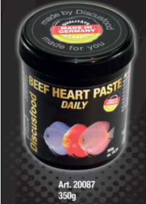 Beef hart paste daily 125gr (SLUT)