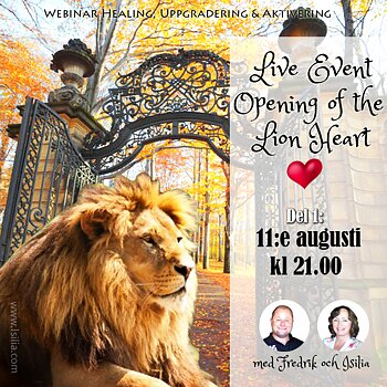 Live Event  - Opening of the Lion Heart DEL 1 den 11:e augusti kl 21.00