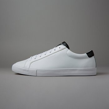 CHOP LEATHER - WHITE/BLACK
