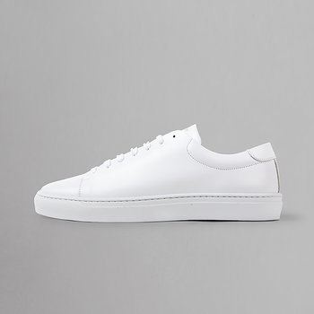 CLUB - POLIDO PATENT LEATHER - WHITE