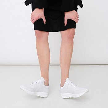 CLOUD RUNNER WMN - TUMBLED LEATHER - WHITE