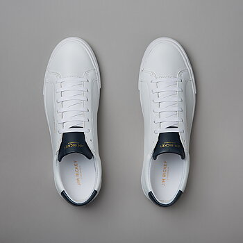CHOP LEATHER - WHITE/NAVY