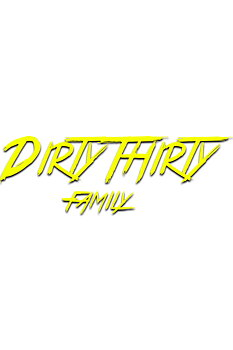 "Dekal ""DIRTYTHIRTY FAMILY"" 60cm"