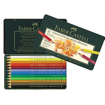Colorerd pen set Faber-Castell POLYCHROMOS - 12 pcs