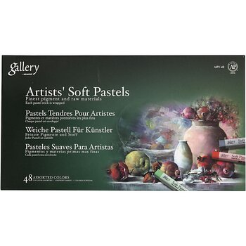 Pastel crayons Gallery Artists Soft Pastels - 48 pcs