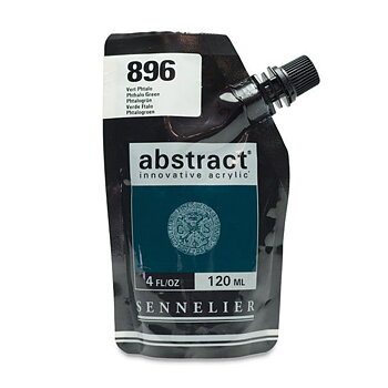 Sennelier Abstract acrylic paint 120ml - Phthalo Green #896