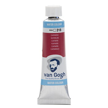 Van Gogh watercolour tube 10ml - Carmine #318