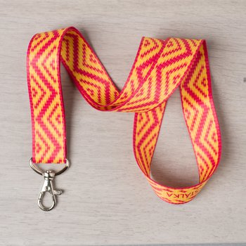 Keystrap Zig Zag yellow-red