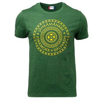 T-shirt Jokkmokk Unisex skogsgrön