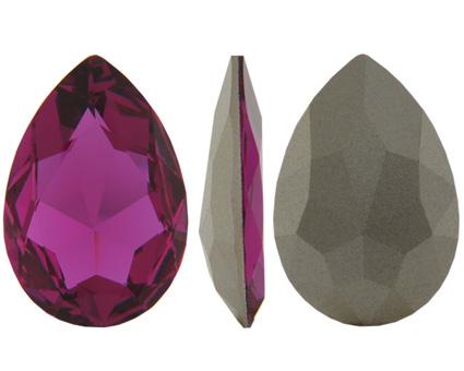 Pear Flat Fancy Stone 4327