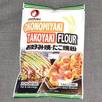 Okonomiyaki & Takoyaki mjöl, 180g