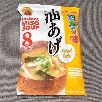 Instant Miso Soup Ryotei no Aji Aburage, 8 portioner