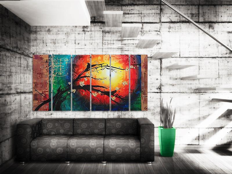abstrakta tavlor billigt