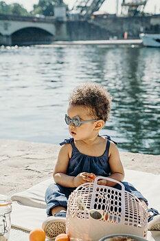Kietla Solglasögon 2-4 år - silver blue