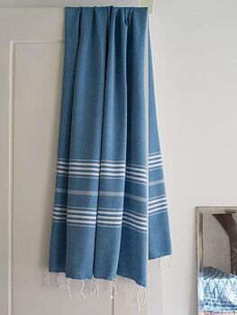 Hammam handduk - oceanblå