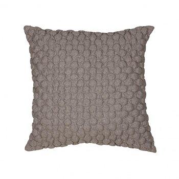 Kuddfodral, Bubbel 50 x 50 cm - grå