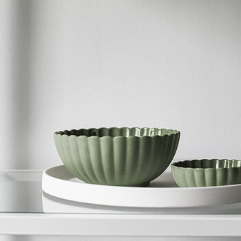 Skål, Flora - grön