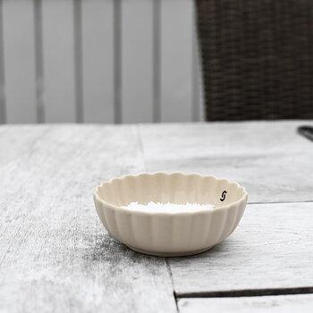 Skål, Flora, mini - beige