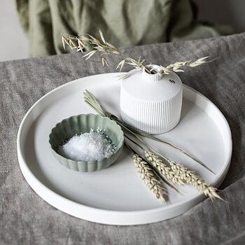 Skål, Flora, mini - grön