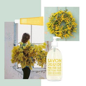 Flytande tvål, Campagnie de Provence - Mimosa flower TILLFÄLLIGT SLUT