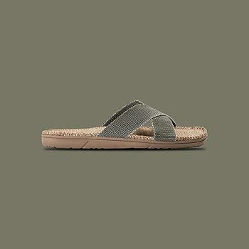 Sandaler, Shangies, unisex - dusty olive, stl 40-47
