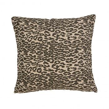 Kuddfodral, Jeppe 50 x 50 cm - leopardmönstrat