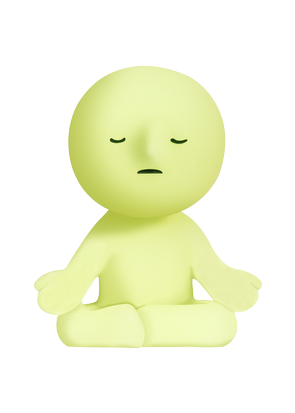 SMISKI Yoga - Glow in the Dark Mini Dolls