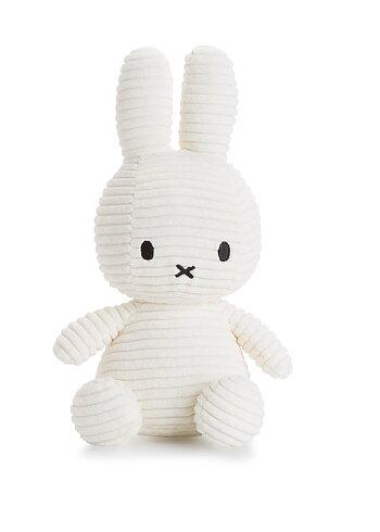 Miffy Courduroy 23cm, White