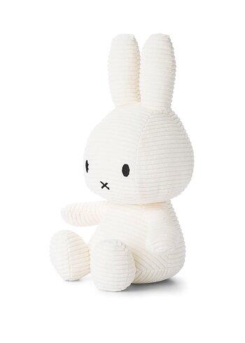 Miffy, gosedjur i manchester 33 cm, Vit