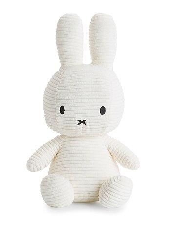 Miffy Courduroy 33cm, White