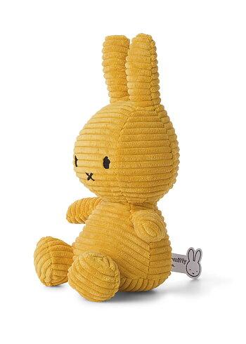 Miffy, gosedjur i manchester 33 cm, Gul