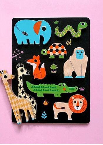 Chunky Animal Puzzle - Ingela P. Arrhenius